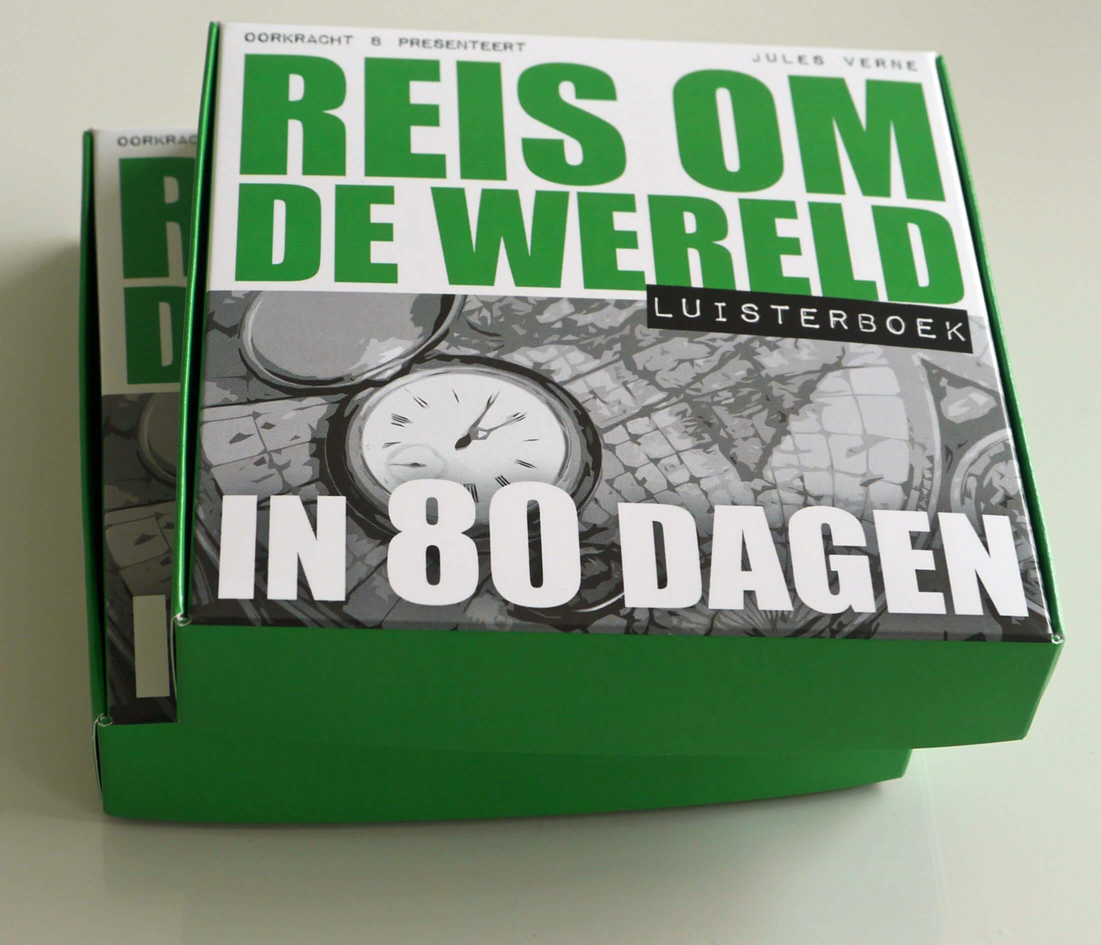 Reis om de wereld in 80 dagen luisterboek 7CD