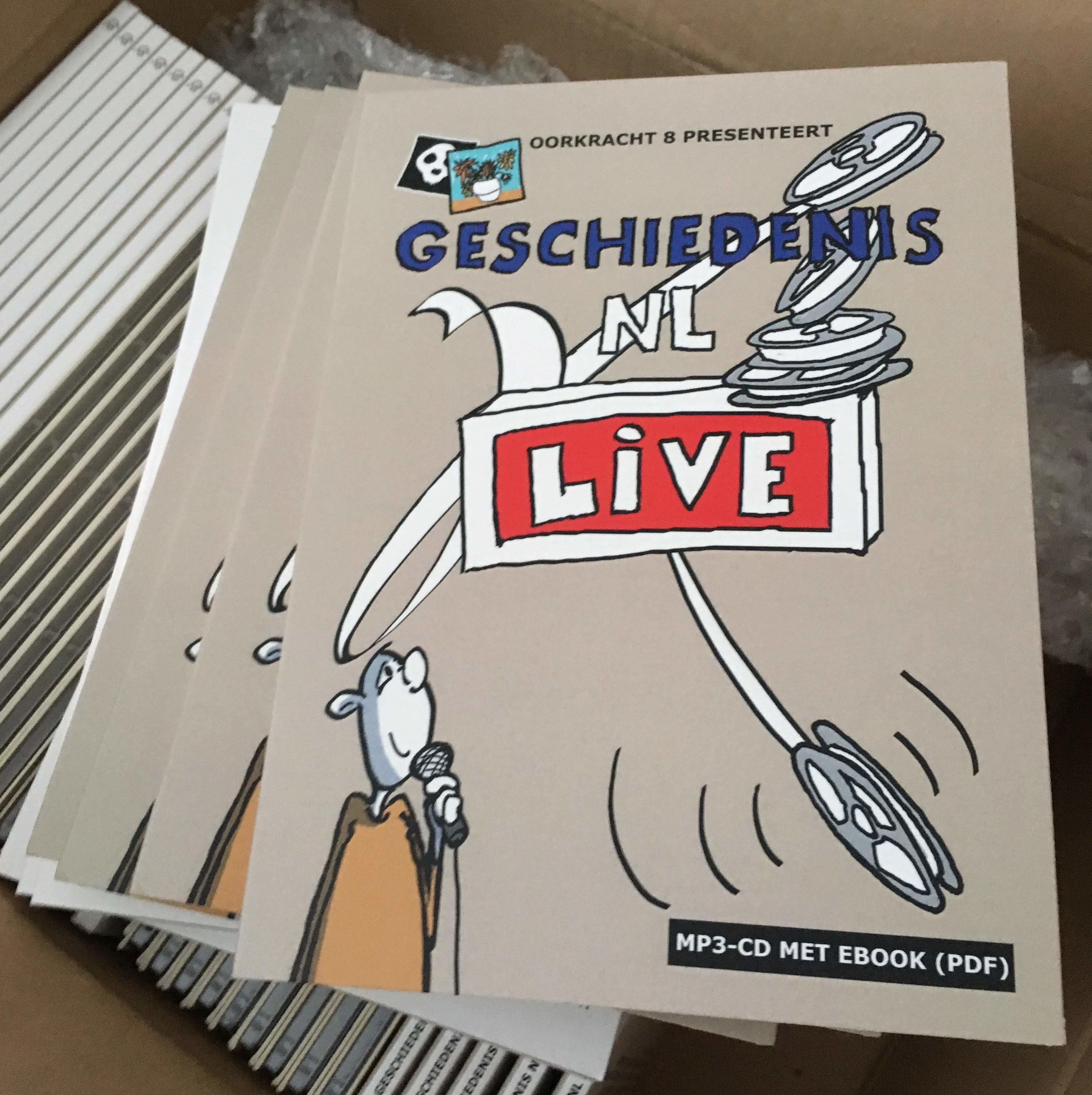 Geschiedenis NL Live - MP3-CD met ebook